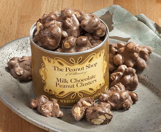 Milk Chocolate Peanut Clusters