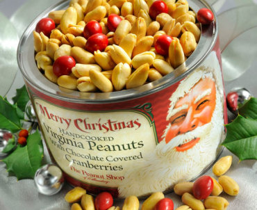 Merry Christmas! Santa Tin