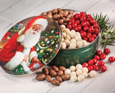 Santa's Surprise Tin