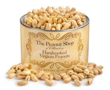 Handcooked Unsalted Virginia Peanuts